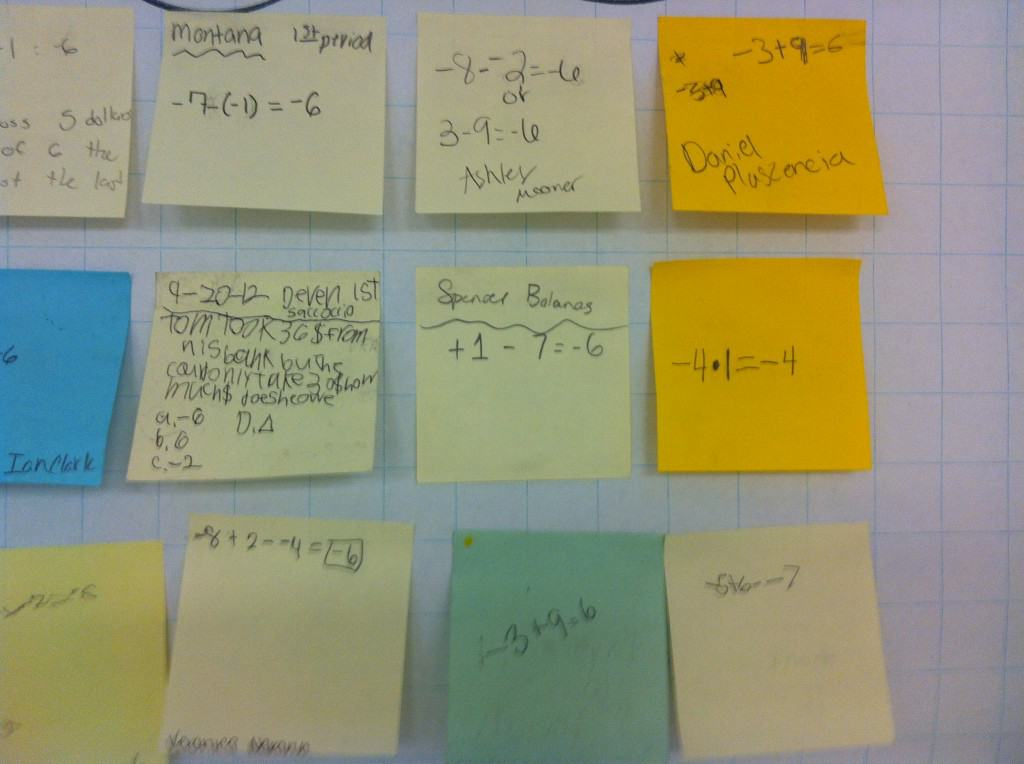Post-It, Prove It! An Exit Ticket Strategy