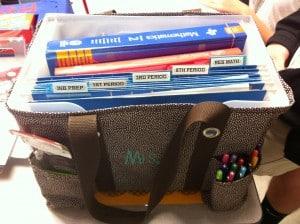 Clearing Teacher Clutter Favorite Bags