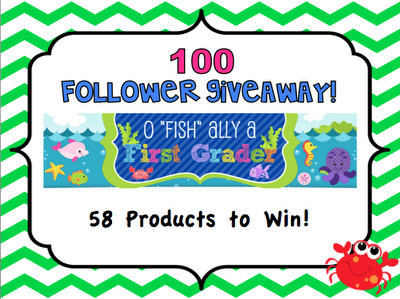 """""""O-Fish-Ally A First Grader"""" Giveaway"""