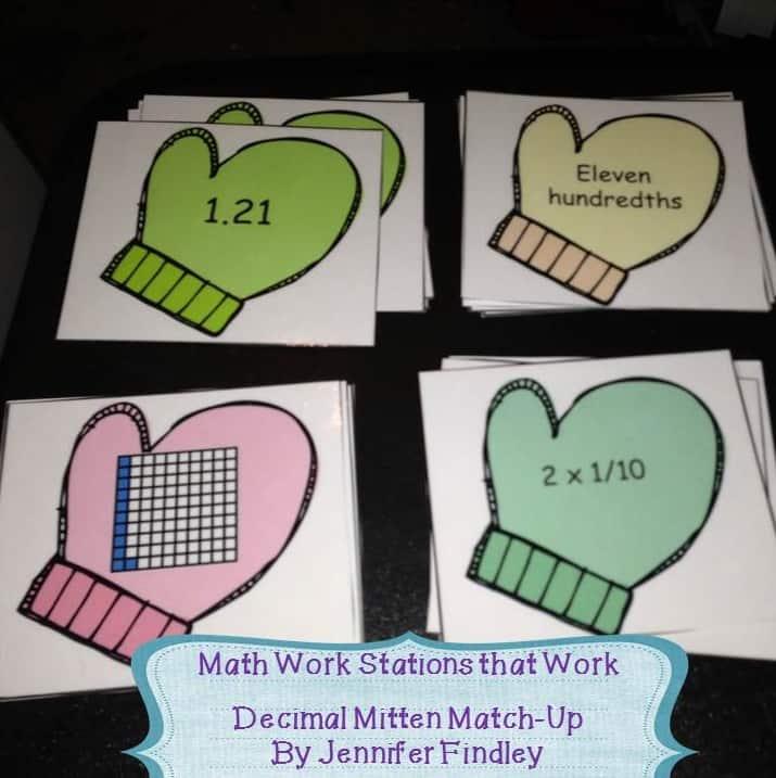 Decimal Match Up Color