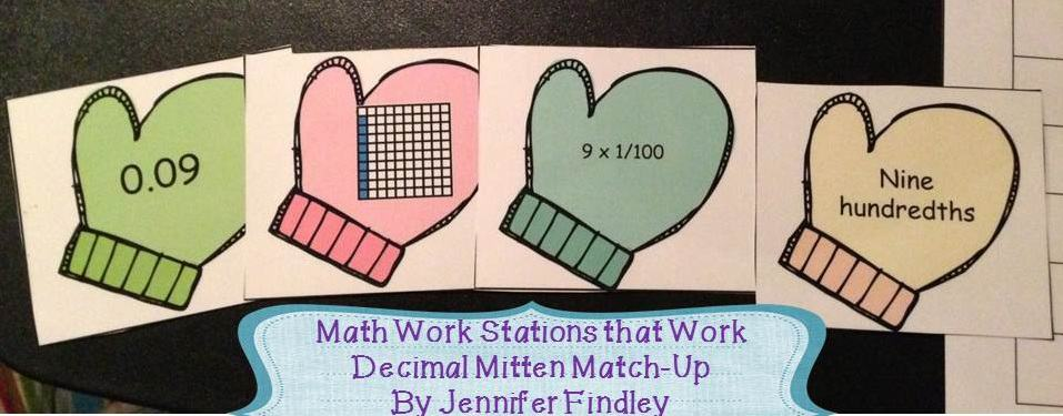 Math Work Stations that Work- Winter Math Centers