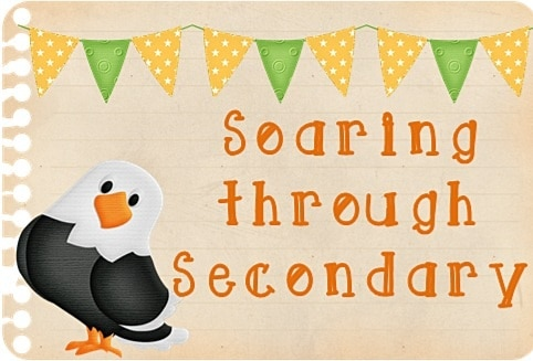 Soaring Through Secondary Blog Hop