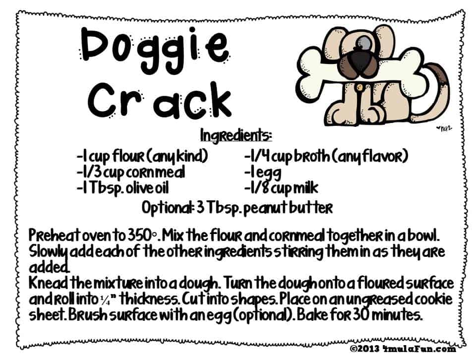 Doggie Crack Recipe