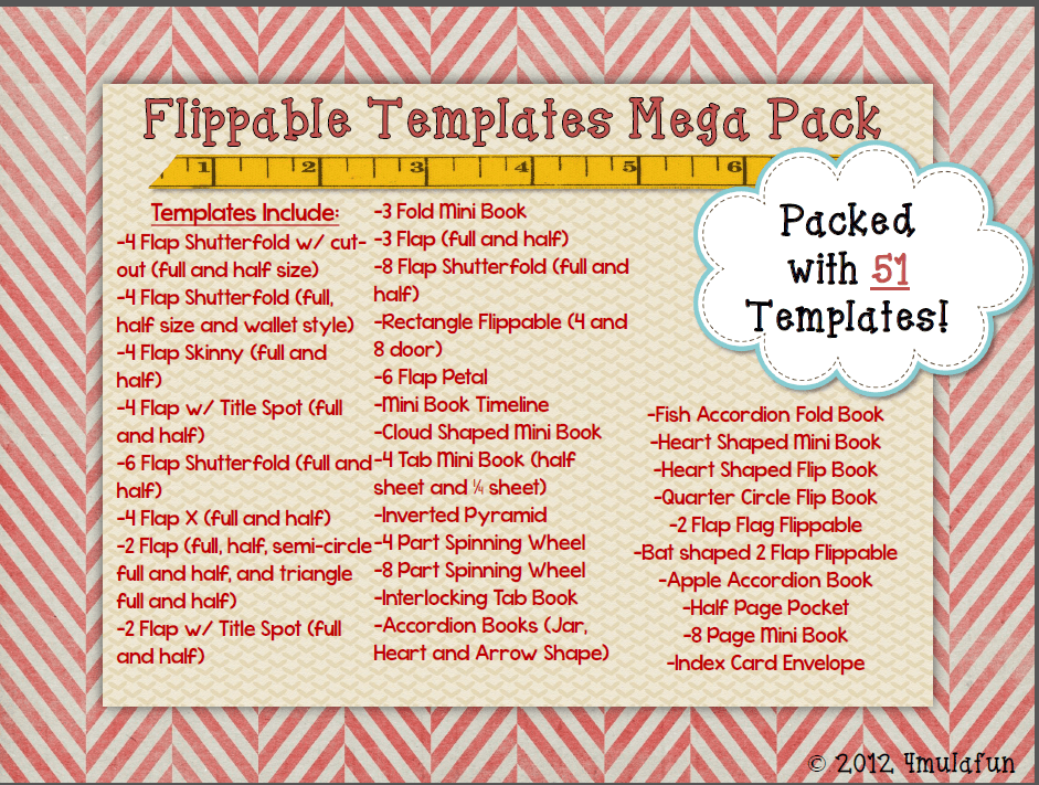 Editable Flippable Template Pack by 4mulaFun