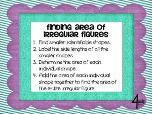 Finding Area of Irregular Figures by 4mulaFun