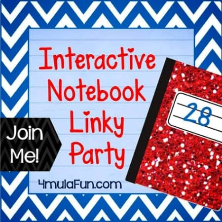 October 2013- Interactive Notebook LInky Party