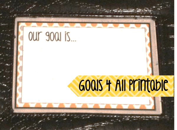Goals 4 All- Freebie Printable