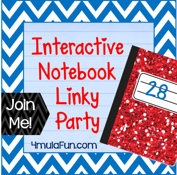Interactive Notebook Linky Party