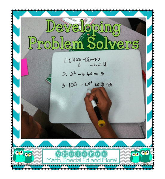Developing Problem Solvers