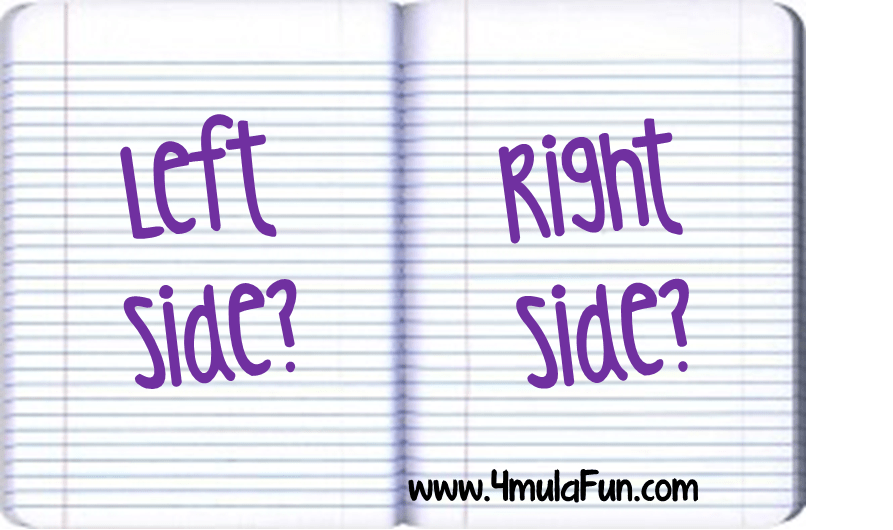 Left Side Versus Right Side for INBs