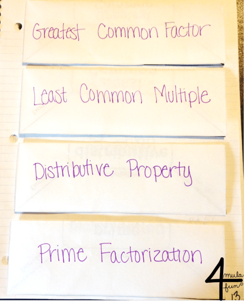 More Vocabulary for 6th Grade Number System