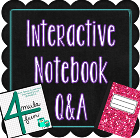 interactive Notebooks Question and Answer with 4mulaFun