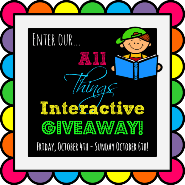 All Things Interactive Giveaway (ends 10/6/13)