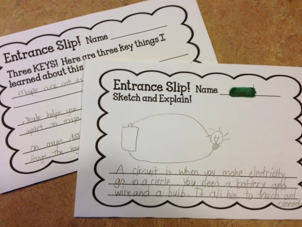 Exit Tickets In The Classroom - Smith Curriculum And Consulting