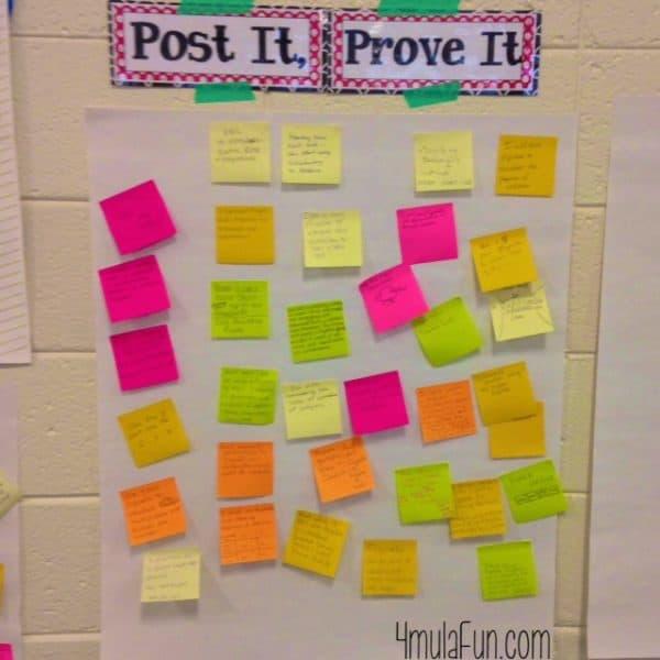 4mulaFun Workshop Post It, Prove It