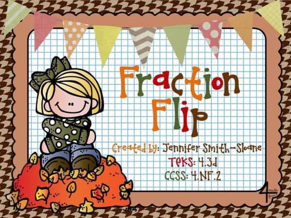 Fraction Flip Freebie