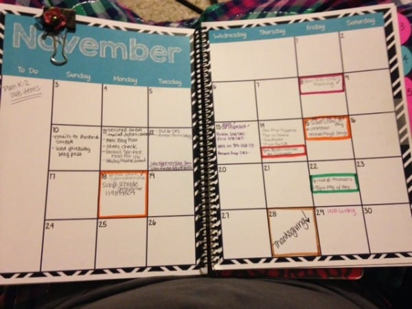 Planning Out my Month