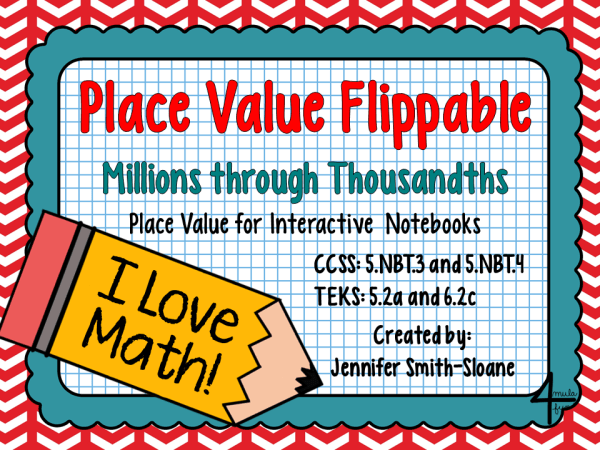 Place Value Flippable