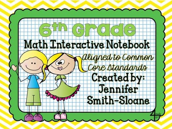 6th Grade Math Interactive Mega Bundle