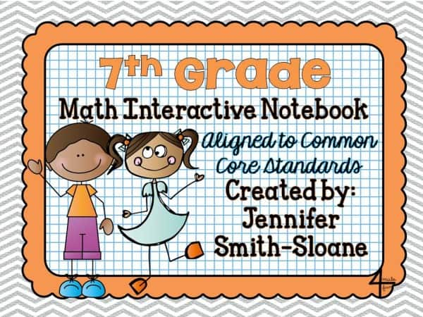 7th Grade Math Interactive Mega Bundle
