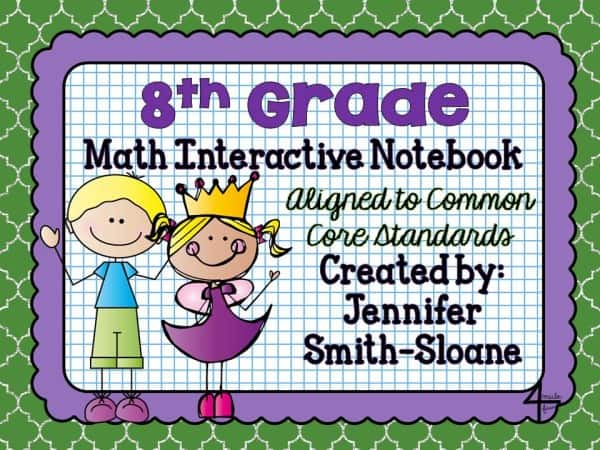 8th Grade Math Interactive Mega Bundle