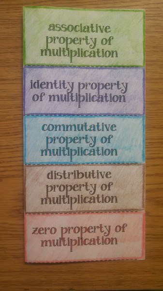 multiplication properties outside