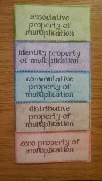 multiplication properties outside