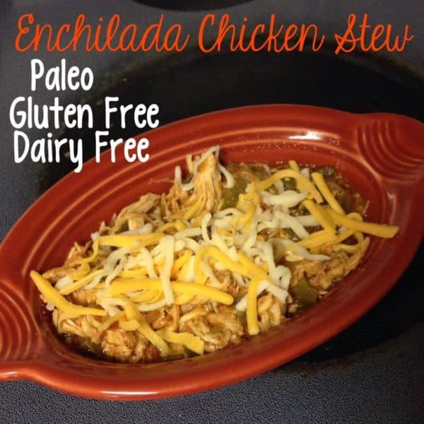 Paleo Enchilada Chicken Stew
