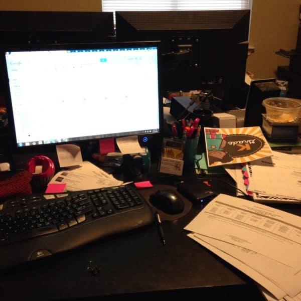 Desk at 4mulaFun