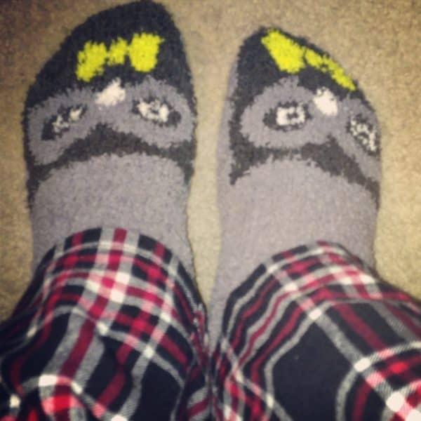 Old Navy Fuzzy Socks