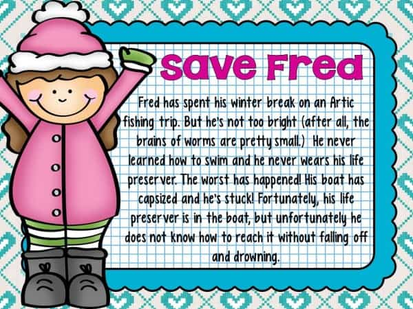 Save Fred- Winter Edition