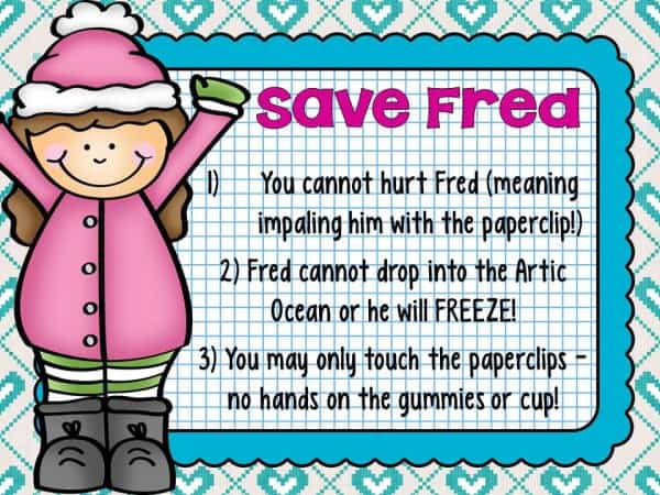 Save Fred- Winter Edition Rules