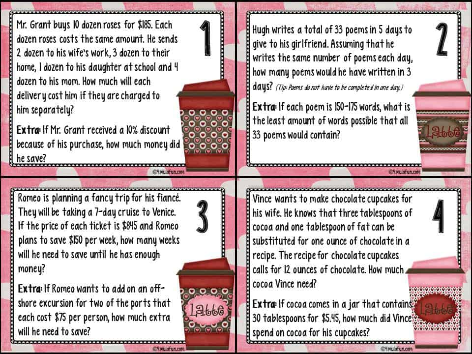 Preparing and Using Task Cards in Middle School
