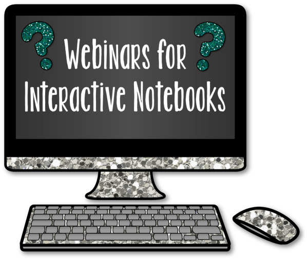 Webinars for Interactive Notebooks