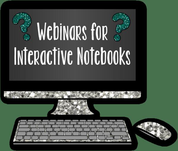 Webinars for Interactive Notebooks