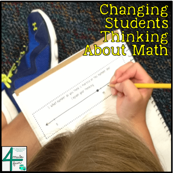 Changing Students Thinking About Math