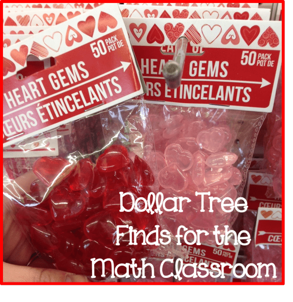 Dollar Tree Finds for Math