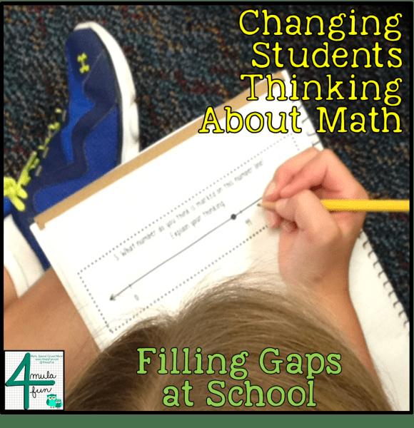 Filling Gaps at School