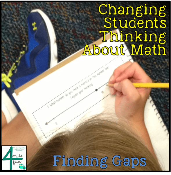 Finding Gaps in Students Thinking in Math