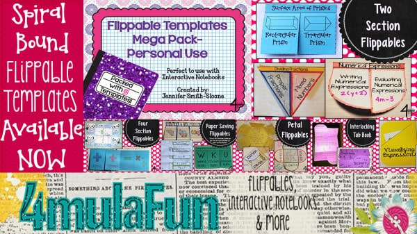 Grab your SPIRAL BOUND Flippable Template Pack today!