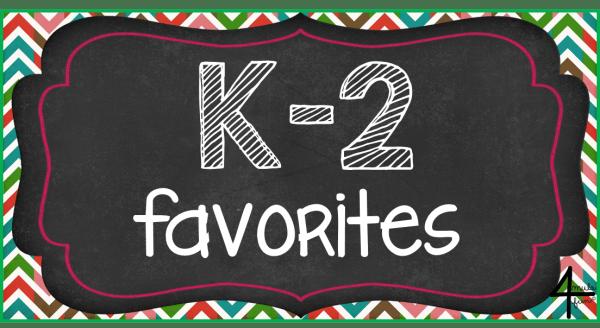 Kindergarten through Second Grade Favorites Pinterest Board