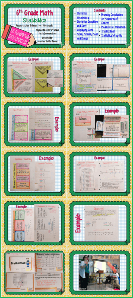 6th Grade Statistics Bundle
