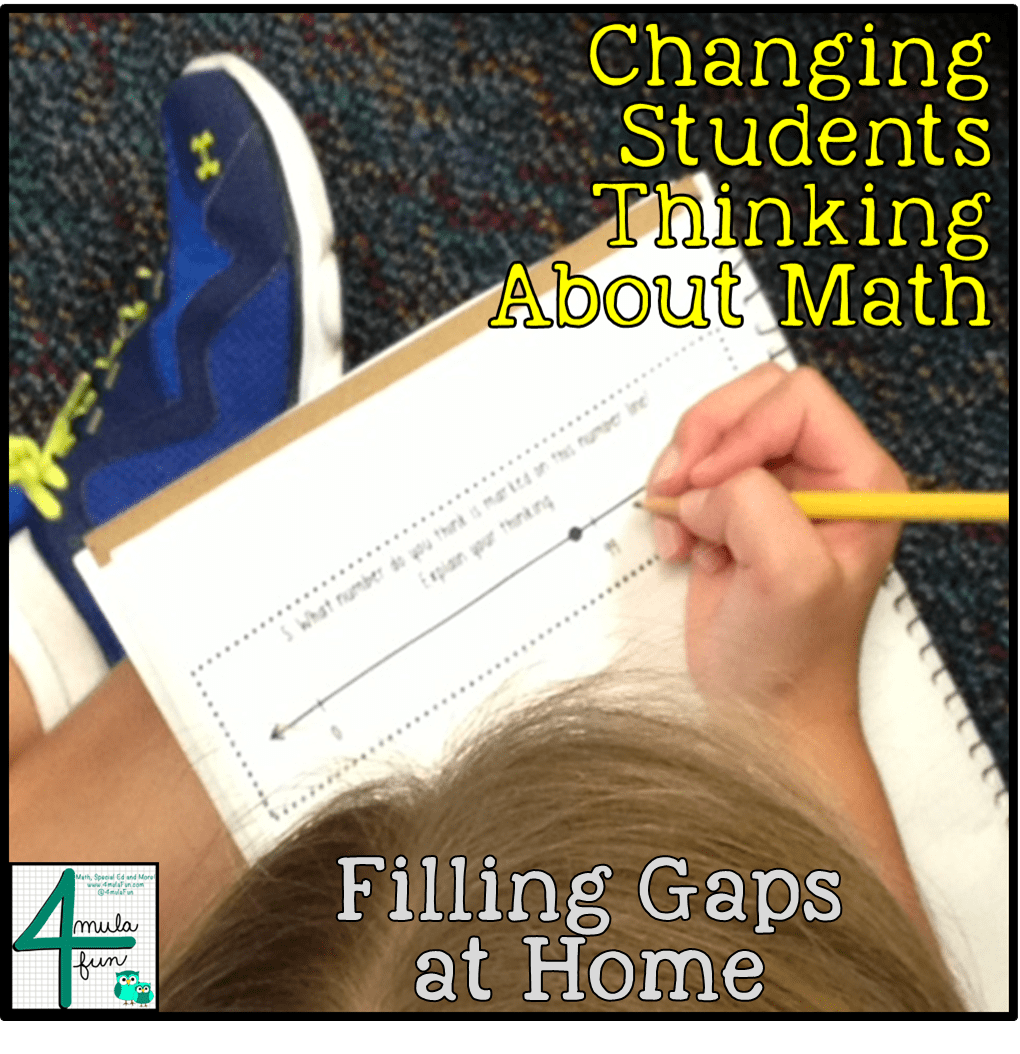 Filling Students Gaps while at Home