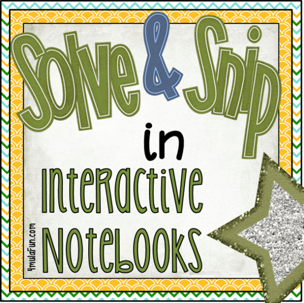 Solve and Snips in Interactive Notebooks