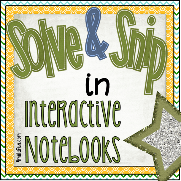 Using Solve & Snips in Interactive Notebooks