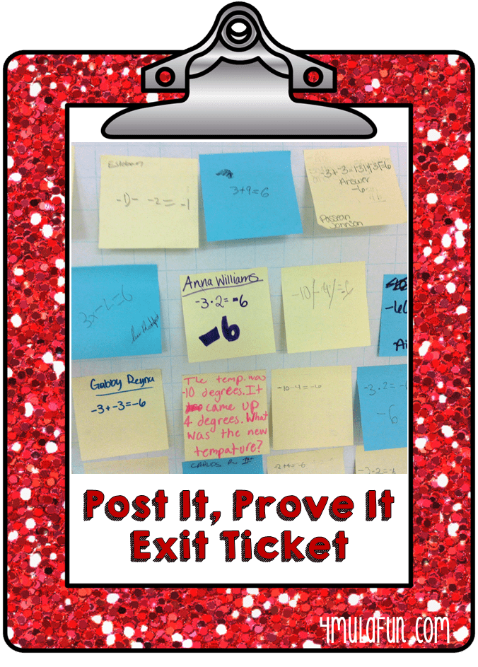 Warm Ups or Exit Tickets in the Classroom?