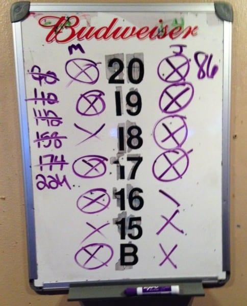 Dart Scoreboard