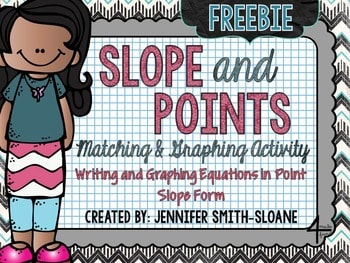 Slope and Points Matching Activity