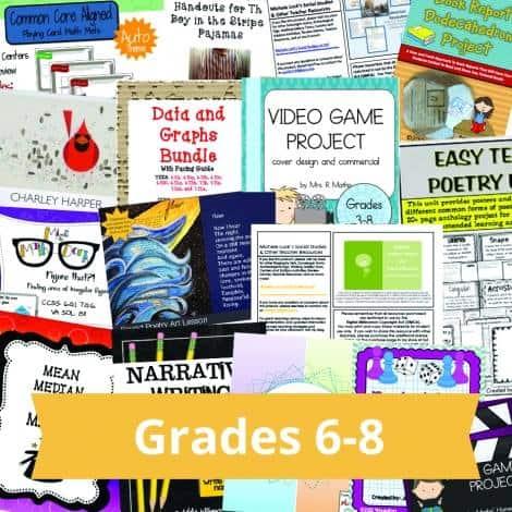 6-8 Grade Bundle