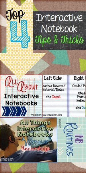 Tips and Trick for Interactive Notebooks